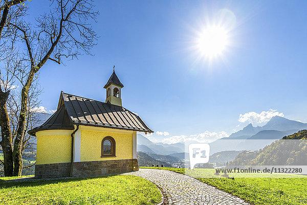 Deutschland  Berchtesgaden  Kapelle der Seligpreisungen Deutschland, Berchtesgaden, Kapelle der Seligpreisungen