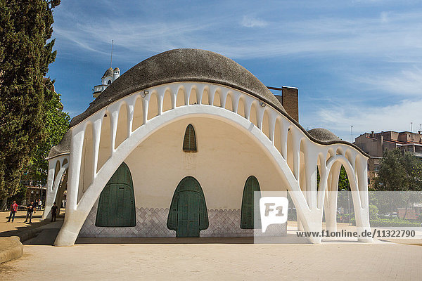 Spain  Catalonia  Terrassa City  Masia Freixa  San Jordi Park  Architect Lluis Moncunill  Modernism architecture