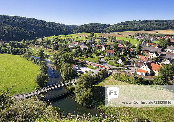 Deutschland  Baden-Württemberg  Gutenstein und Donau