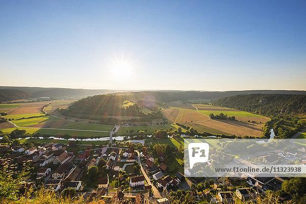 Deutschland  Bayern  Altmühltal  Arnsberg und Altmühl