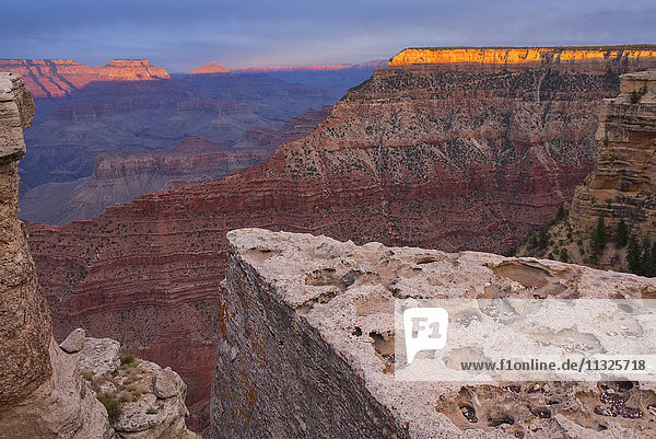 USA  United States  America  Arizona  Grand Canyon  National Park  UNESCO  World Heritage  natural wonder  landscape  south rim  vista