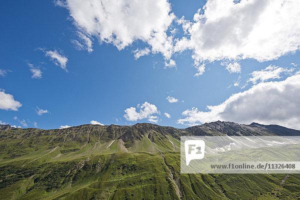 Col du Nufenen pass in Valais