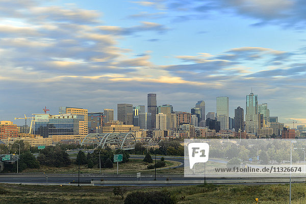 Denver city in Colorado