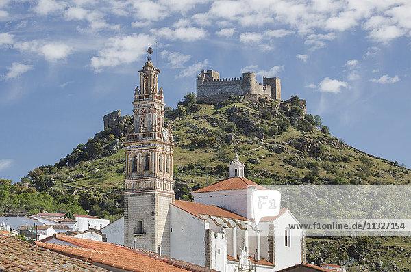 church in Burguillos in Extremadura