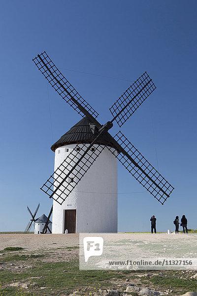 windmill in Consuegra in La Mancha