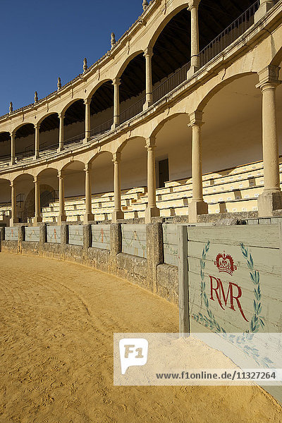bullfight arena in Andalusia