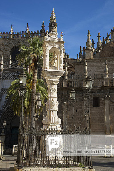 cathedral in Seville  Andalusia