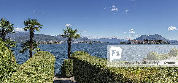 Stresa on Lago Maggiore in Lombardy