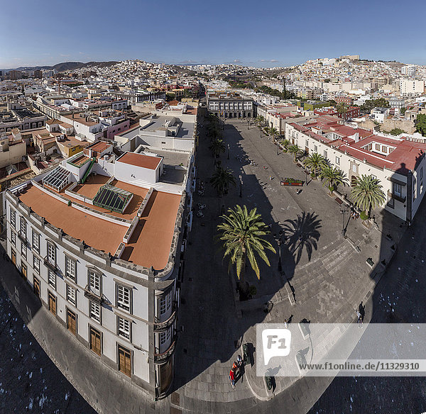 Las Palmas city in Gran Canaria  Canary Islands