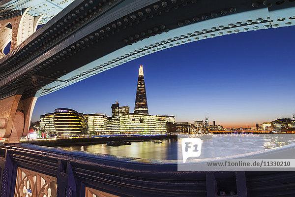 England  London  Southwark  City Hall and The Shard