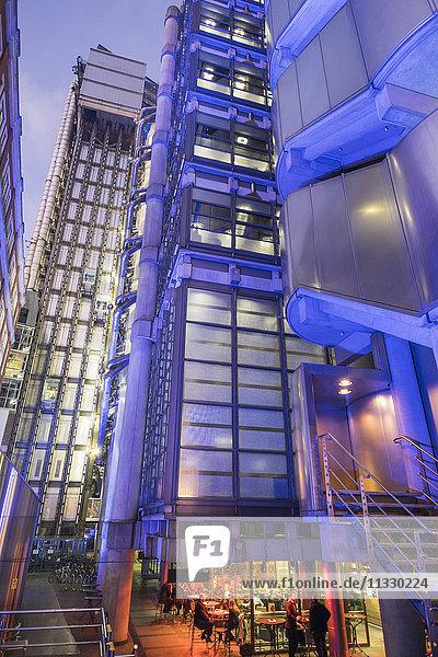England  London  City  Lloyds Building