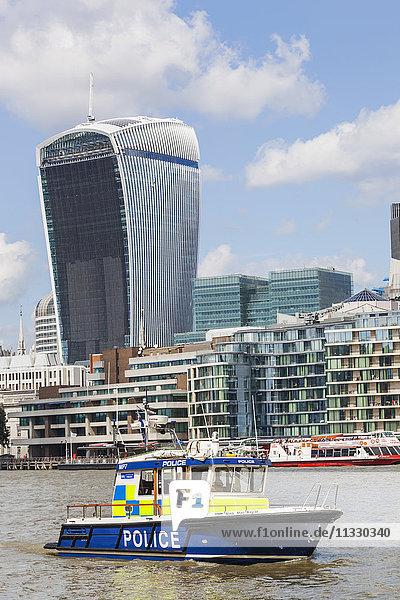 England  London  Thames River Police
