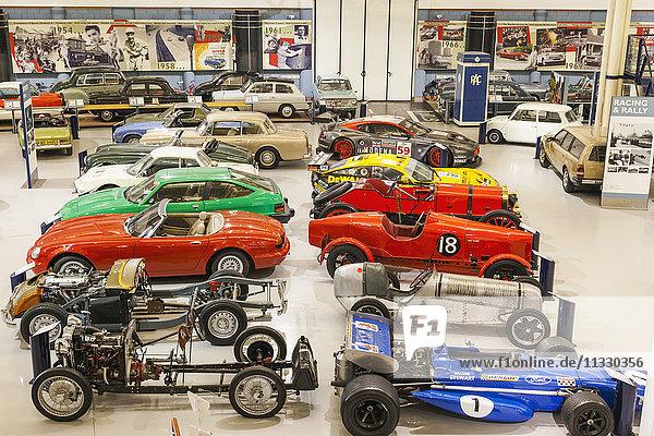 England  Warwickshire  Gaydon  The Heritage Motor Centre Museum