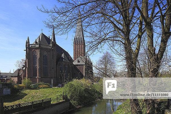 church in Goch  North Rhine-Westphalia  Germany
