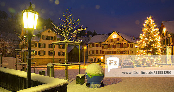 Christmas in Thal  canton of St. Gall