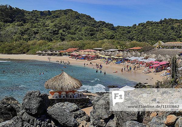 Coral beach  Ixtapa island  Ixtapa-Zihuatanejo city  Mexico