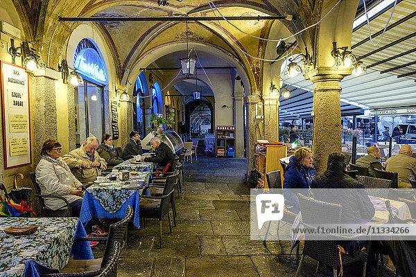 Italy  Cannobio  local bar