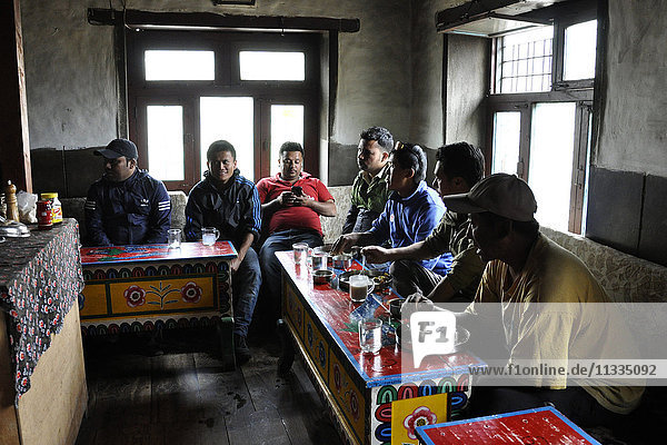 Nepal  Mustang  daily life