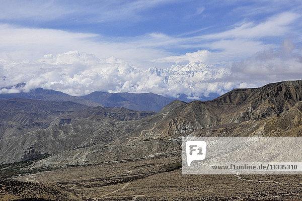 Nepal  Mustang  landscape