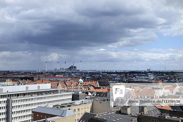 Denmark  Copenhagen  View from circular tower
