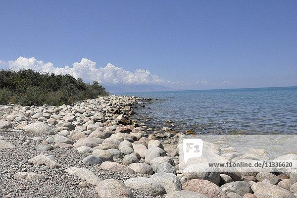 Kyrgyzstan  Issik Kul lake