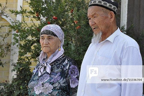 China  Xinjiang  Kashgar  people daily life