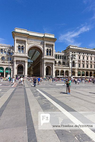 Italy  Lombardy  Milan  Vittorio Emanuele II Gallery