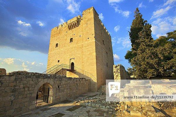 Kolossi Castle  Kolossi  Cyprus  Eastern Mediterranean  Europe