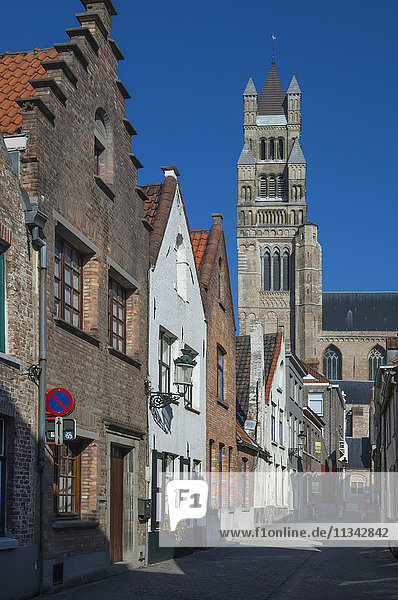 St. Saviours Cathedral (St. Salvator's Cathedral)  Bruges  UNESCO World Heritage Site  Belgium  Europe