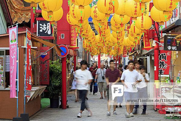 Chinatown  Nagasaki  Kyushu Island  Japan  Asia