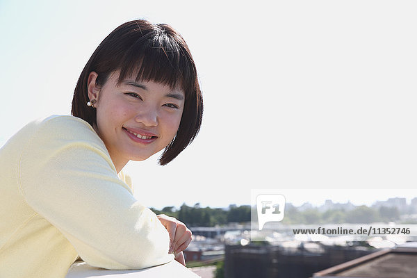 Young Japanese woman portrait