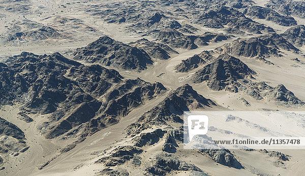Rocky landscape  Namib Desert  Namibia