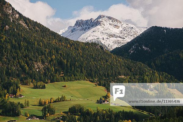 Val di Funes  Südtirol  Dolomiten  Italien