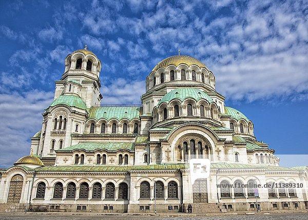 Alexander Newski Kathedrale  Sofia  Bulgarien  Europa