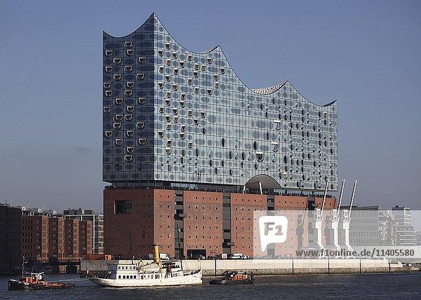 Elbphilharmonie  HafenCity  Hamburg  Deutschland  Europa