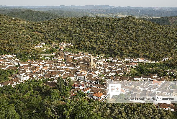 Dorf Alajar  Sierra de Aracena  Provinz Huelva  Andalusien  Spanien  Europa