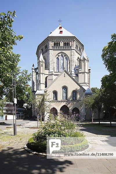 Romanische Kirche Sankt Gereon  Köln  Nordrhein-Westfalen  Deutschland  Europa