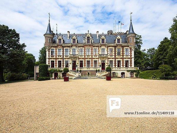Schloss Saint Florent sur Cher  Saint Florent sur Cher  Département Cher  Frankreich  Europa