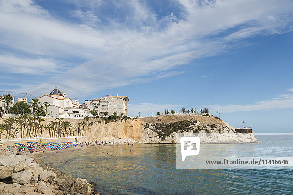 'Poniente Beach; Benidorm  Alicante  Spain'