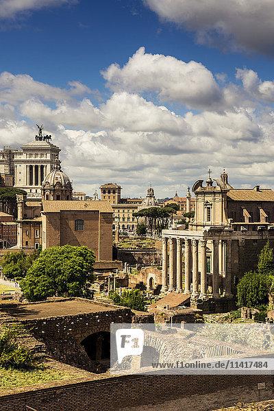 'Capitoline Hill; Rome  Italy'