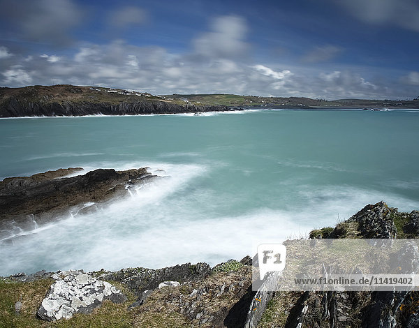 'Rosscarbery coastline on the Wild Atlantic Way  West Cork; County Cork  Ireland'