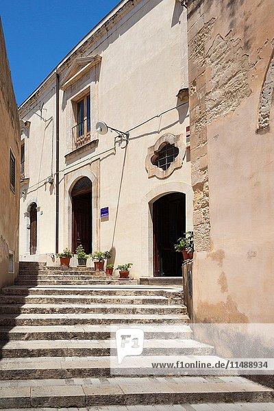 Museo Del Duomo  Museo San Giorgio  Ragusa Ibla  Ragusa  Sicily  Italy.