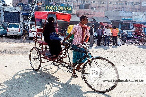 India  Delhi  street scene in the old city.