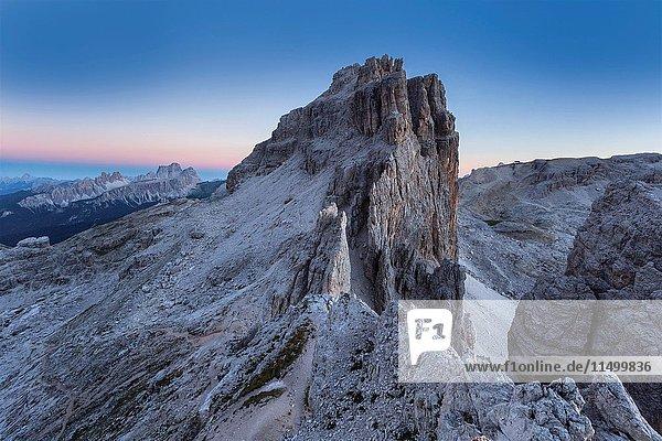 Europe  Italy  Veneto  Belluno  Cortina d Ampezzo. Lagazuoi grande  Dolomites.
