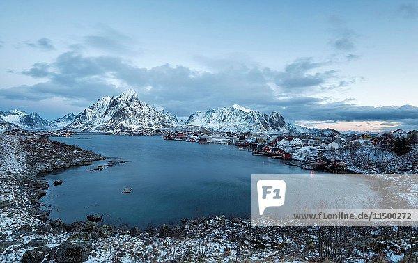 Reine - Lofoten islands Norway.