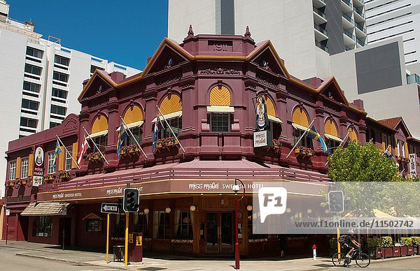 Famous Miss Maud Swedish Hotel in Perth in Western Australia Australia