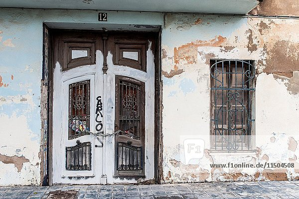 Beniferri neighborhood  Valencia  Spain