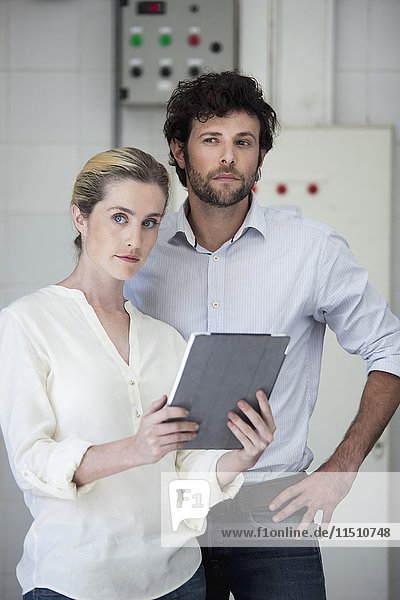 Kollektoren mit digitalem Tablett