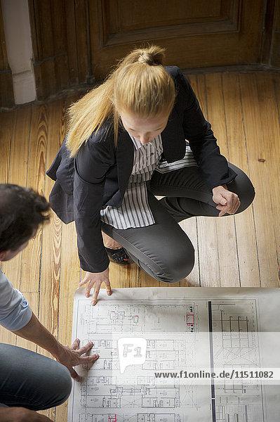 Designer  die zusammenarbeiten