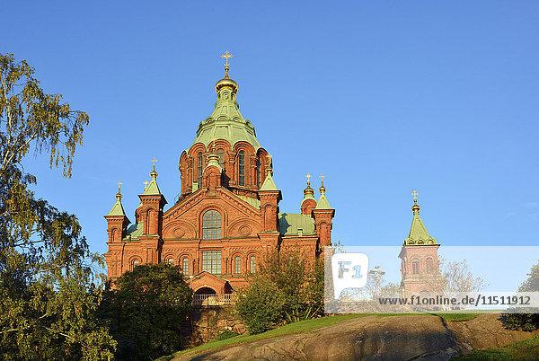 Uspenski Orthodox Cathedral. Helsinki  Finland
